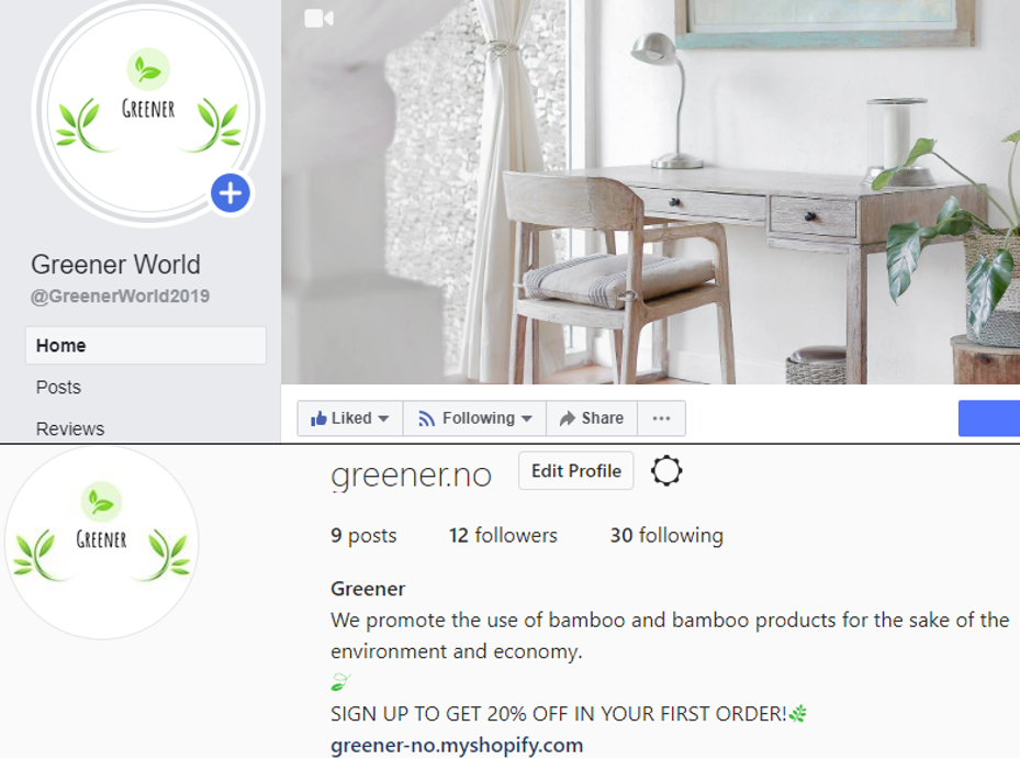 Greener World. Kundeservice. Vår nettbutikk. Digitale tjenester. Greener.no
