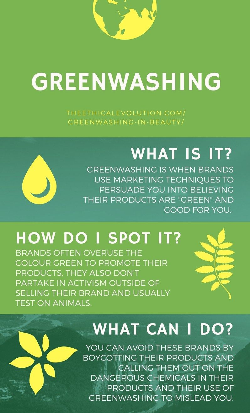 Bilderesultater for greenwashing