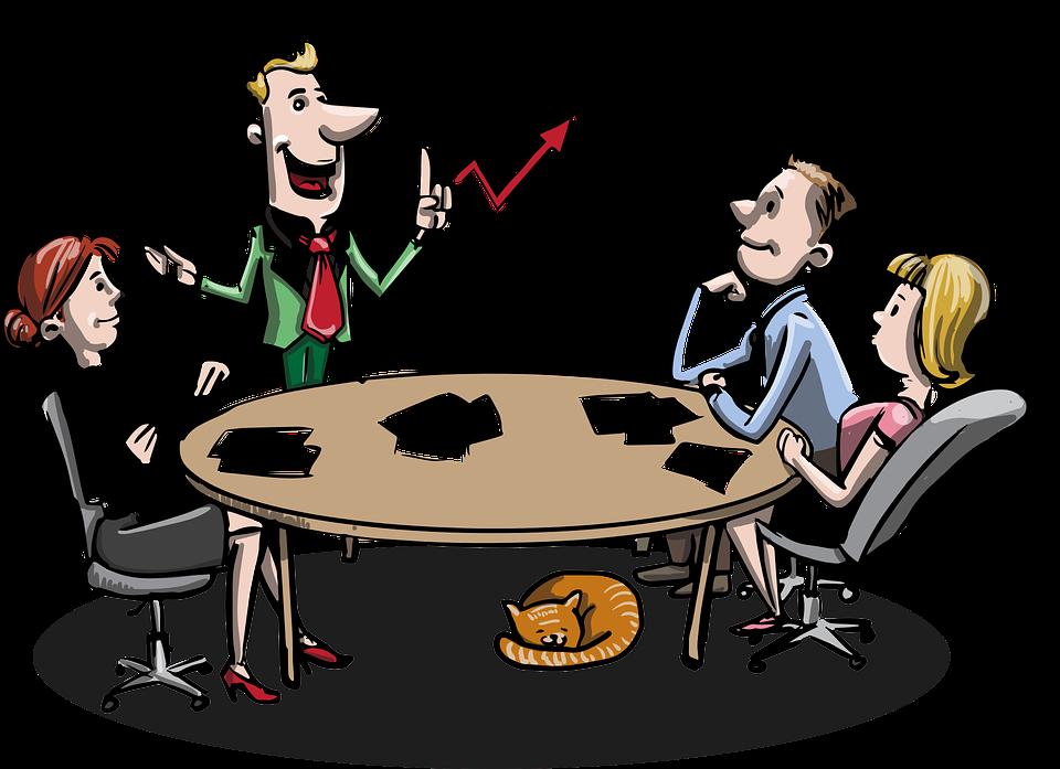 Møte, Business, Idédugnad, Forretningsmenn, Karriere