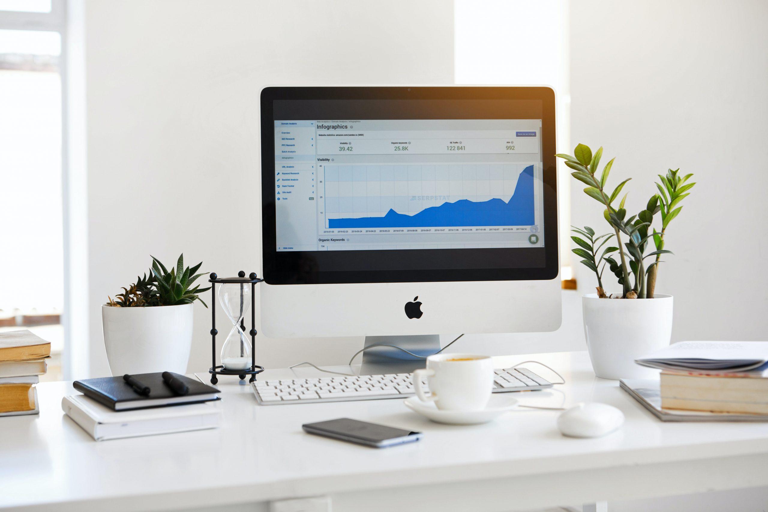 analyser, apple, arbeid